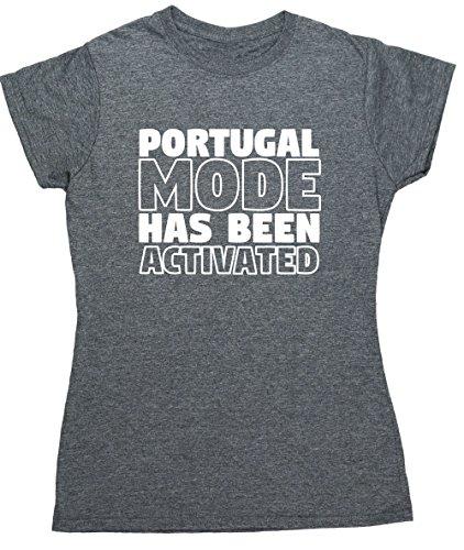 HippoWarehouse Damen T-Shirt X-Large Grau Meliert