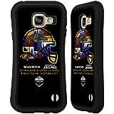 Officiel NFL Baltimore Ravens Casque 2017 London Games Teams Étui Coque Hybride pour Samsung Galaxy A3 (2016)