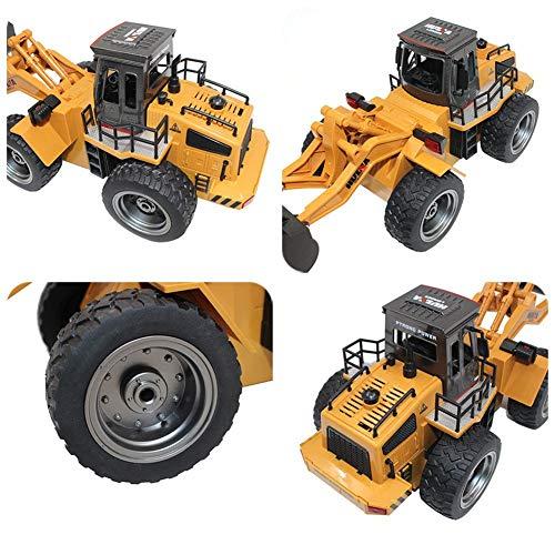 RC Auto kaufen Baufahrzeug Bild 2: s-idee® 18146 S1520 Rc Radlader Bagger 1:18 mit 2,4 GHz schwenkbare Schaufel Huina 1520*