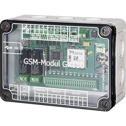 CE GX110 GSM Modul 5 V/DC, 24 V/DC Funktion: Alarmieren, Messen, Schalten