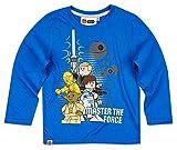 Lego Star Wars Kollektion 2017 Langarmshirt 98 104 110 116 122 128 134 140 Shirt Jungen Neu Top Blau (110/116)