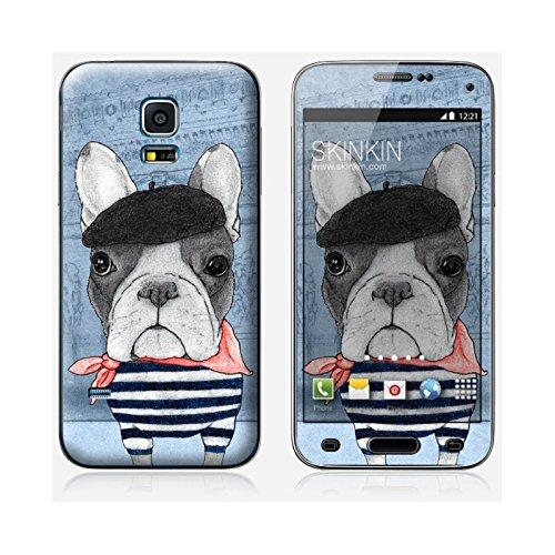 Coque iPhone 6 Plus et 6S Plus de chez Skinkin - Design original : French Bulldog in Arc de triomphe par Skin Samsung Galaxy S5 mini