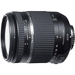 Tamron B008TS N Objectif 18-270 mm f/3,5-6,3 Di II VC PZD pour Appareil Photo Nikon Noir