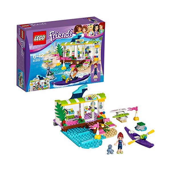 LEGO-Friends Il Surf Shop di Heartlake, Multicolore, 41315 1 spesavip