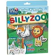Take 'n' giocare ovunque attività Design 'n' Doodle–Silly Zoo