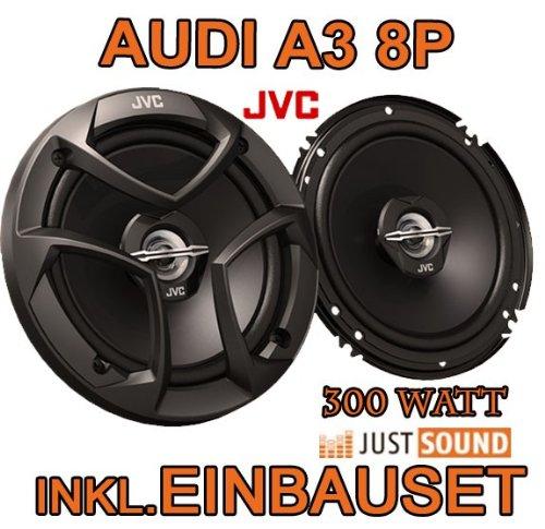 Lautsprecher Einbauset Ringe Adapter f/ür Audi A3 8P 03//2003-05//2012 165mm