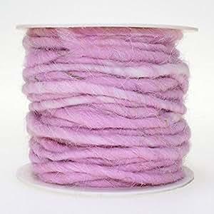 Filzschnur Ø: 5mm rosa Rolle 10mtr,