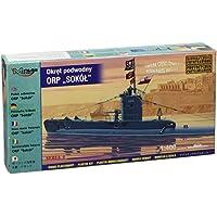 Mirage Hobby 40428-1:400 Polnisches U-Boot ORP Sokol mit Fotoätzteilen