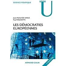 Les démocraties européennes : Approche comparée des systèmes politiques nationaux (Science politique)