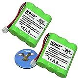 Best Téléphones sans fil HQRP - HQRP Paque de 2 Batteries pour Vtech MG2423 Review