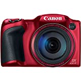 Best Selling Canon PowerShot SX400 Digital Camera with 30x Optical Zoom (Red) be sure to Order Now