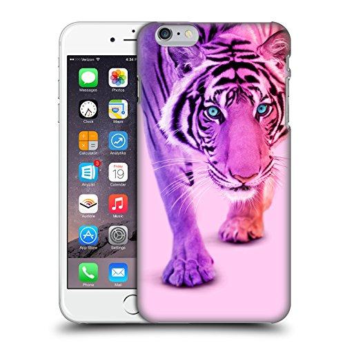 Offizielle Paul Fuentes Einhorn Llama Tiere 2 Ruckseite Hülle für Apple iPhone 6 / 6s Farbe Tiger