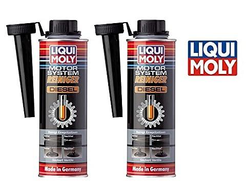 PAKTISCHES SET 2 x 300 ml LIQUI MOLY LM 5128 Motor System Reiniger DIESEL Motorreiniger (Liqui Moly Motor System Reiniger Diesel)