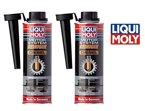 PAKTISCHES SET 2 x 300 ml LIQUI MOLY LM 5128 Motor System Reiniger DIESEL Motorreiniger PROFI-WERKSTATT-QUALITÄT