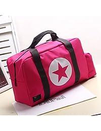 EasyBuy India L, Black : Women's Handbag Oxford Waterproof Travel Sotrage Duffle Bags Luggage Sports Storage Bag...