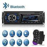 1 Din Autoradio Bluetooth, Dicool Radio Stéréo Voiture, 2 Ports USB Charger...