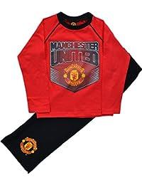 cbe672964 Boys Manchester United Football Club Long Pyjamas Sizes 4 to 12 Years