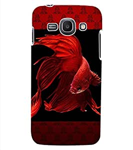 ColourCraft Beautiful Fish Design Back Case Cover for SAMSUNG GALAXY ACE 3 LTE S727