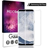 Protector de pantalla Galaxy S8 Plus, Hootech Cristal Vidrio Templado Premium Para Samsung Galaxy S8 Plus
