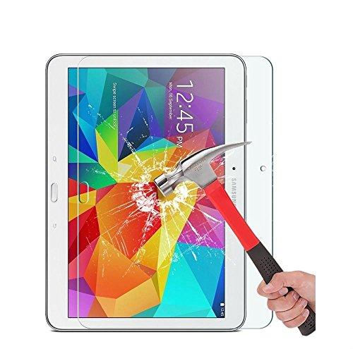 1 X Samsung Galaxy Tab 4 10.1 Displayschutz, Panzerglas Tempered Glass Screen Protector für Galaxy Tab 4 T530 Glas Schutzfolie Displayschutzfolie