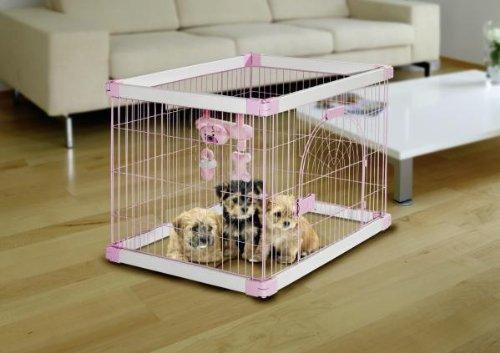 Artikelbild: Karlie Puppy Nanny, 90 x 71 x 68 cm, hellblau/wei
