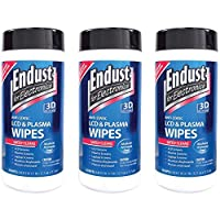Unbranded 3 Pack Endust 11506 Lcd & Plasma Monitor Cleaner Pop-up Wipes (NOZ11506KIT)