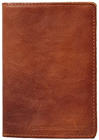 LE CARNET M carnet cuir intérieur papier artisanal recyclé 100 pages style vintage PAUL MARIUS