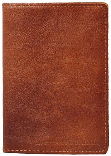 LE CARNET Größe M Mit Recyclingpapier Lederbuch in 100 Seiten Vintage-Stil PAUL MARIUS