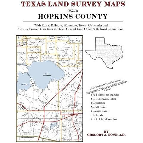 Texas Land Survey Maps for Hopkins County