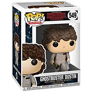 Funko Pop Dustin Cazafantasmas (Stranger Things 549) Funko Pop Stranger Things