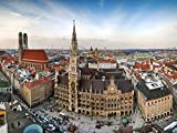 Lais Puzzle Panoramablick über München 1000 Teile
