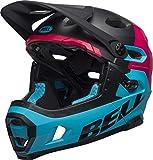 Bell – Erwachsene SUPER DH MIPS Fahrradhelm unhinged m/g blk/Berry/Blue S