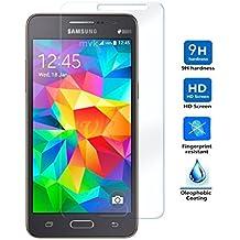 Protector de Pantalla para Samsung Galaxy Grand Prime G530, G30H, G531f, Grand Prime 2016, Cristal Vidrio Templado Premium, Electrónica Rey®