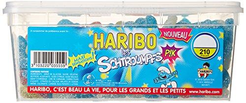 Haribo Bonbon Gélifié les Schtroumpfs Pik x 210 Pièces 1,197 kg