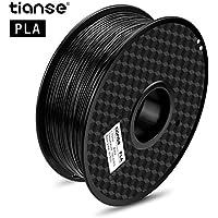 TIANSE Filamento de PLA para la impresora 3D/Pluma 3d, 1 kg 1,75 mm