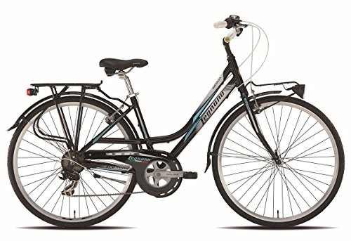 LEGNANO BICICLETA 441 SMERALDA LADY 7 V TALLA 48 NEGRO (CITY)/BICYCLE 441 SMERALDA LADY 7S SIZE 48 BLACK (CITY)