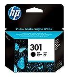HP 301 Schwarz Original Druckerpatrone für HP Deskjet 1000