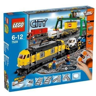 LEGO City Cargo Train 7939 by LEGO City