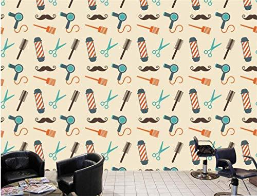 Fondos de pantalla Foto personalizada Cosmetología Moda Peluquería Papel de pared 3d para sala de estar Espesar Mural Wallpaper Dormitorio