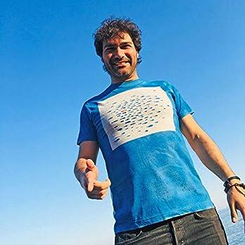 Rebellenfisch – Trauen Sie sich, anders zu sein T-Shirt – Männer T-Shirt – Ein Fisch schwimmen in entgegengesetzter Richtung – Original Geschenk für ihn – 100% Baumwolle