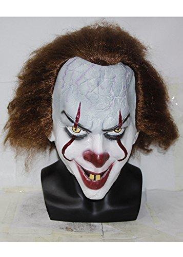 Neues Design Pennywise Style Es die Clown Maske (Pennywise Masken)