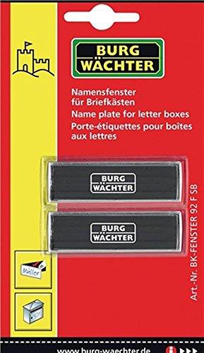 Ersatz-Namensfenster alle Burg-Wächter Briefkästen
