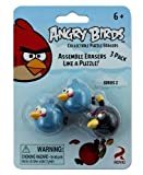 Angry Birds Collectible Puzzle Erasers (...