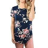 UFACE - Camicia - Azteco - A Listino - Manica Corta - Donna Blu 7 XL
