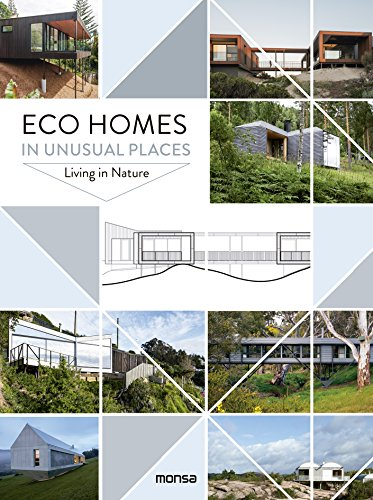 Eco Homes in unusual places. Living in Nature por monsa