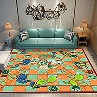 Rugs Modern Look Designer 3D Carpets Snake Ladder Block Home Kaleidoscope Living Room Colourful Pattern Multi-coloured Contemporary Durable dorm room Pastel Colors Non-slip bedroom D255