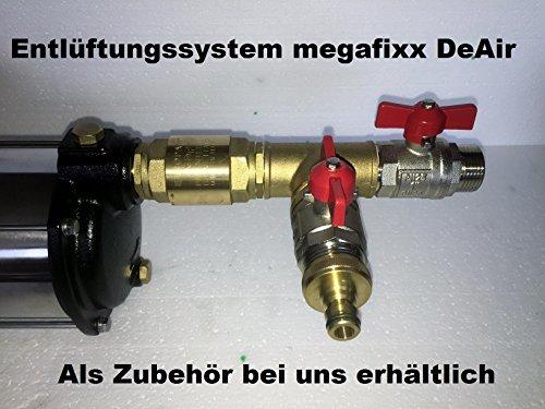 megafixx HMC8SC-G94174 Kreiselpumpe - 1700 Watt | 8 stufig | 8,5 Bar - Hauswasserautomat mit Druckschalter von Güde - 6