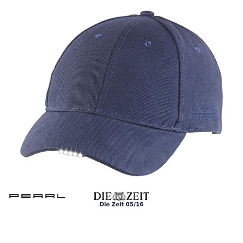 PEARL LED Cap: LED-Schirmmütze mit 5 Highpower-LEDs (LED Kappe)