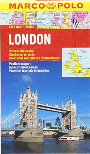 MARCO POLO Cityplan London 1:15 000: Stadsplattegrond 1:15 000 (MARCO POLO Citypläne)