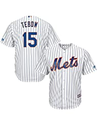 Majestic Tim Tebow # 15 New York Mets MLB coolbase Maillot Home